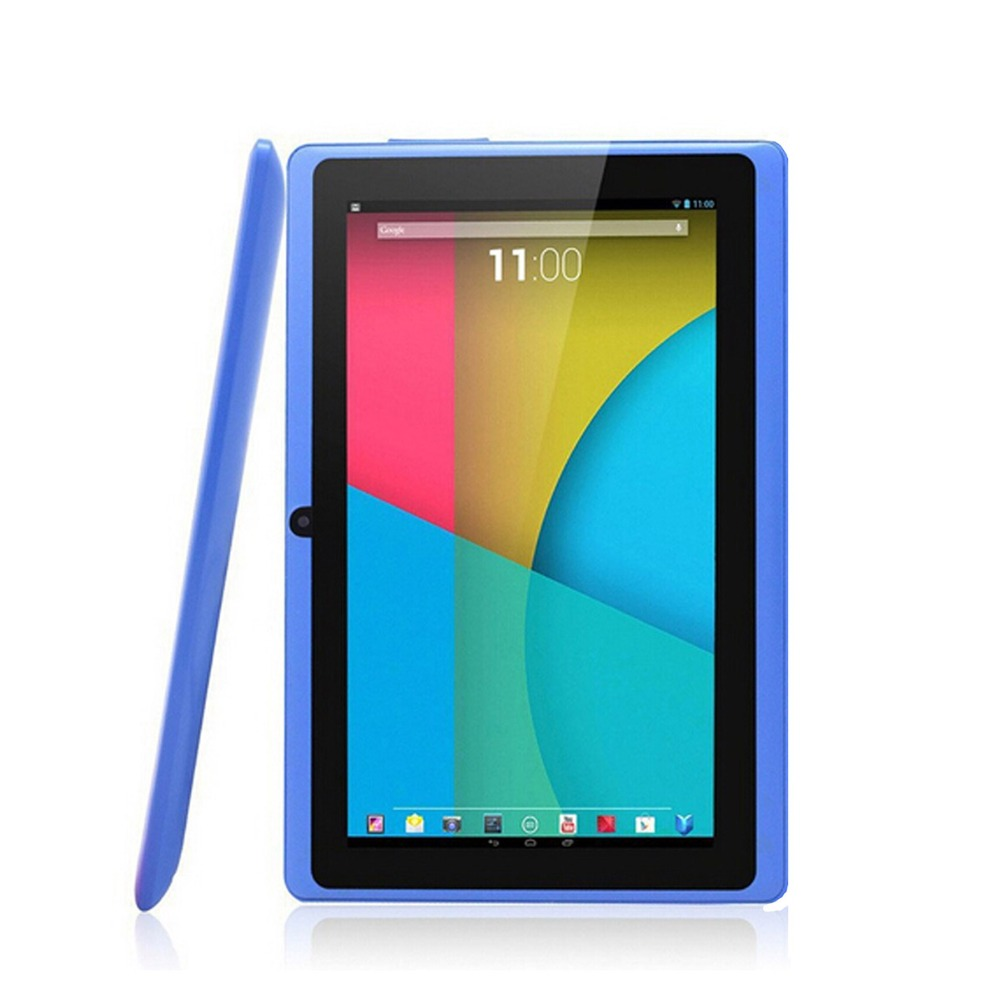 цена на 7 inch Kids Tablet PC Q88 4GB Google Android 4.2 DUAL CORE Tablet PC A23 Capacitive Screen Camera MID Wifi