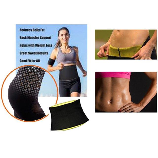 Cn Herb Unisex Hot Neoprene Waist Slimming Fitness Belt By Jern (sport, Shapewear, Tummy Trimmer Girdle) 3