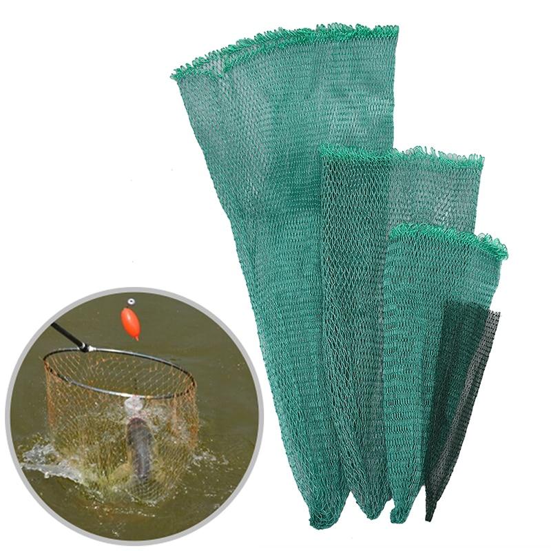 Fishing Net~Mesh BagGreen Fish BagCage Tackle Fishing Landing Tackle accessoryAT