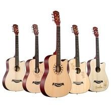Andrew 38 дюймов Акустическая гитара классического дизайна липа sapele гитара