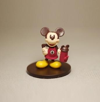 Disney Micky Maus 4,5 cm Nette Rare Vintage Kellner Stil Pvc-abbildung Spielzeug DIY Kuchen Dekoration Ornamente Modell für kinder geschenk