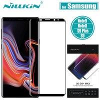 Nillkin Glas op de voor Samsung Galaxy Note 9/8/S9 Plus Glas Screen Protector Volledige Cover Beschermende glas voor Samsung S9 Plus