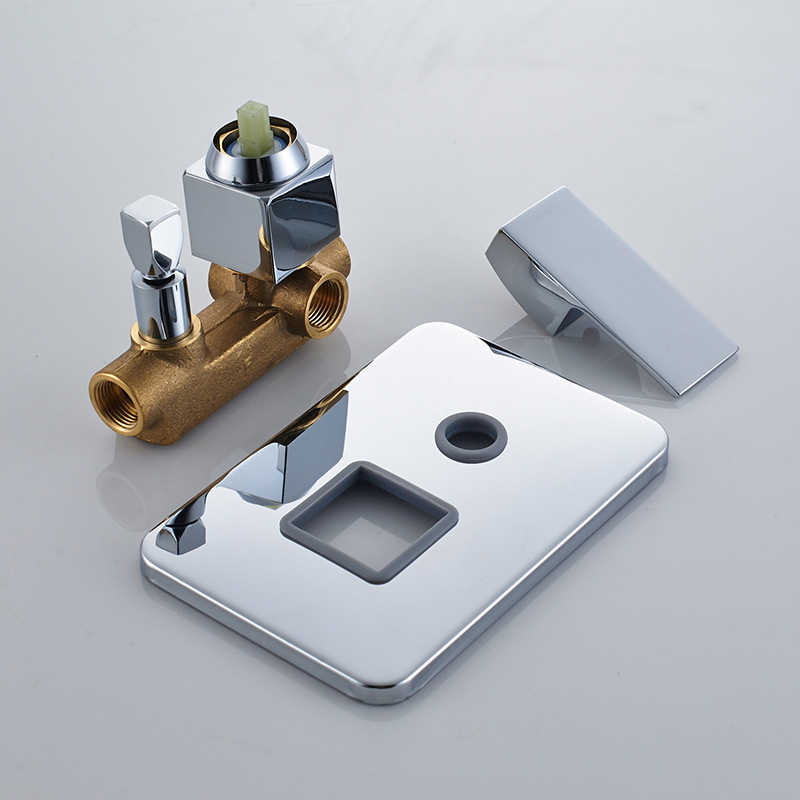 Wholesale And Retail Promotion Free Shipping Wall mount 2 Ways Shower Faucet Control Valve Single Handle