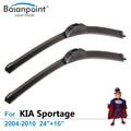 """Limpiaparabrisas para KIA Sportage 2004-2010 24 """"+ 16"""", conjunto de 2, Direct Fit Limpiaparabrisas"""