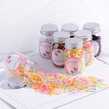 Популярные 100/200 шт красочные одноразовые эластичные ленты натуральная Резиновая лента домашняя еда ребенок пакет для волос офисные резиновые бренды