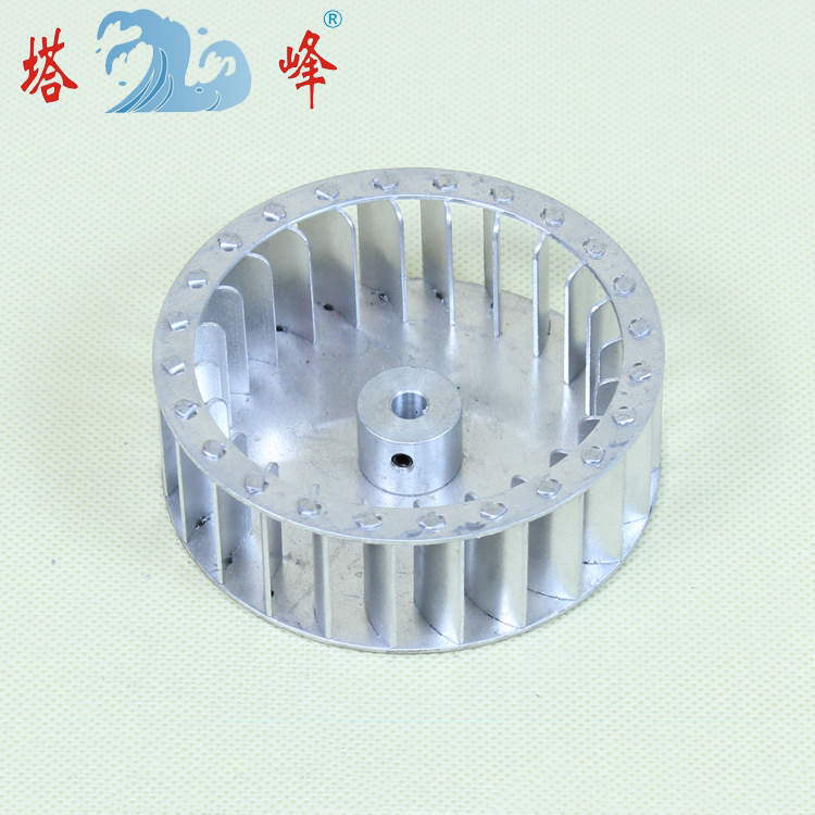 84mm Diameter 30mm Height Small Aluminum Centrifhgal Impeller Fan Multiple Blade Vane Power Tool Parts