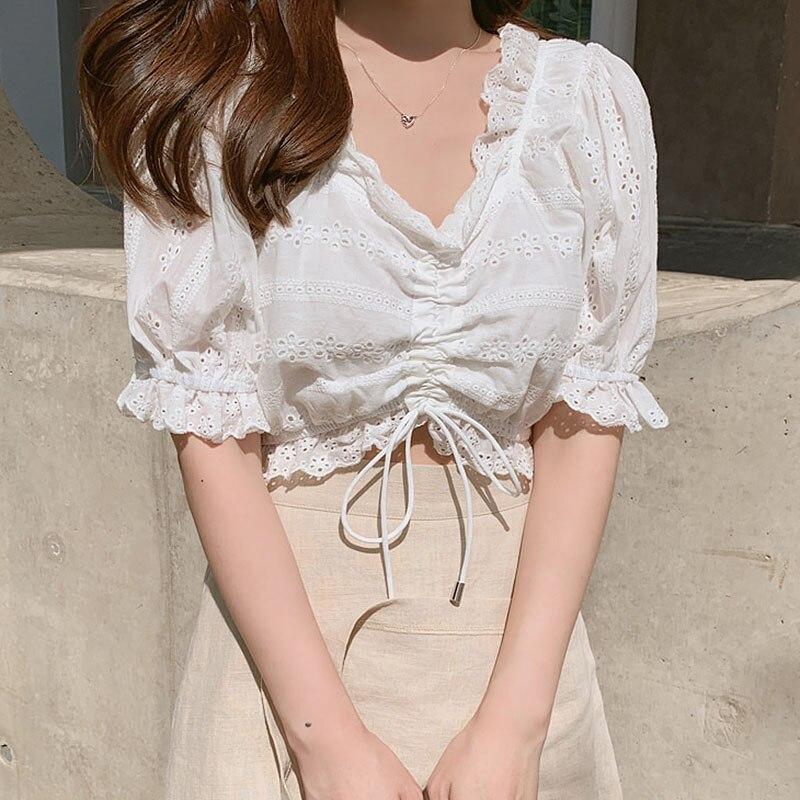 BOBOKATEER haut femme white blouse women shirts plus size womens tops and blouses woman 2019 blusas verano mujer tunique
