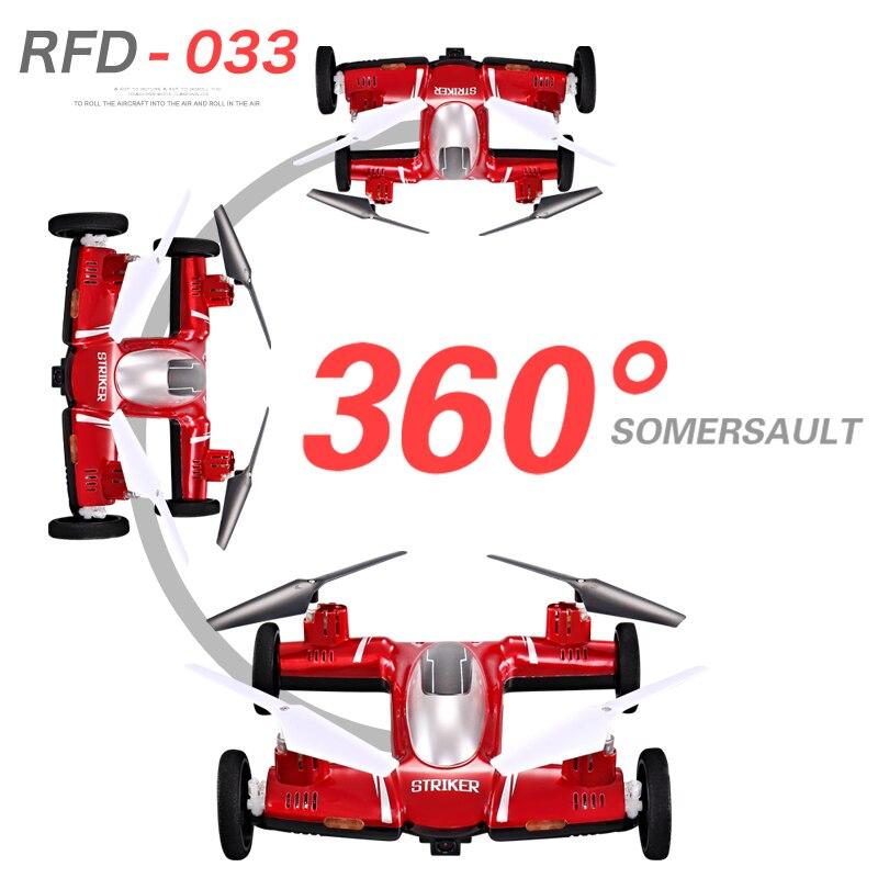 4.5CH 2.4G Drone Remote Control Flying Car 6-Axis Gyro Camera RC - Juguetes con control remoto
