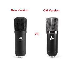 Image 5 - MAONO Professional 3.5mm Microphone Kit Condenser Microphone for Computer Audio Studio Vocal Rrecording Karaoke Mic