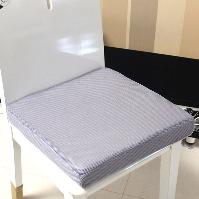 Breathable Mesh Seat Cushion Chair Cushion Memory Foam Thickness Slow  Rwbound For Office Dinner