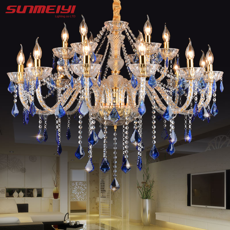 Modern Luxury K9 Crystal Chandelier Lighting LED Pendant Hanging Light Lustres De Cristal Lamp Home Lighting Fixture modern fashion luxury led crystal pendant lamp 6 bulb home deco dinning room lustres de cristal sala teto pendant light fixture
