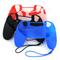 10/lot 4 Color Choice Silicone Skin Case Cover for SONY PlayStation 4 PS4 Controller With Handle