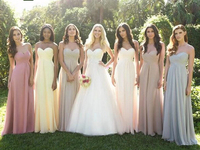 0039 Dusty Rose Pink Light Yellow Dark Teal Silver Grey Strapless Evening Dress Maxi Plus Size