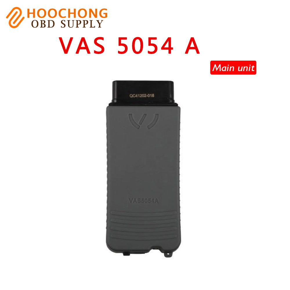 Quality A Vas 5054a Scanner Main Unit V19 VAS5054 With Bluetooth Vas5054a Multi Language Free Shipping