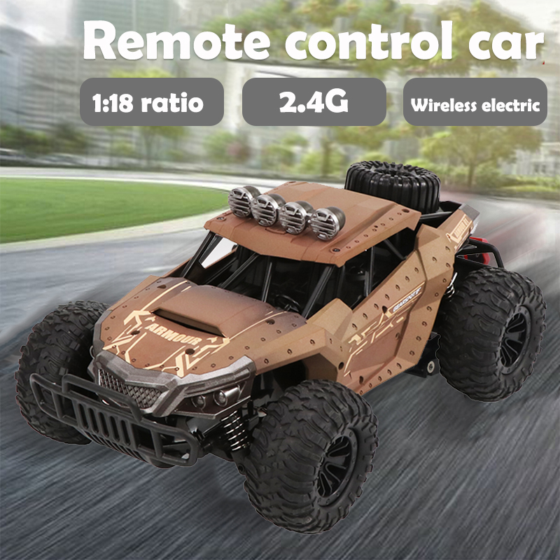 RC Racing RC Truck Off-Road Boys Gifts Wrestling Cool Vehicle Climbing High Speed Shaft Drive 2WD Remote Control Toy RC Car
