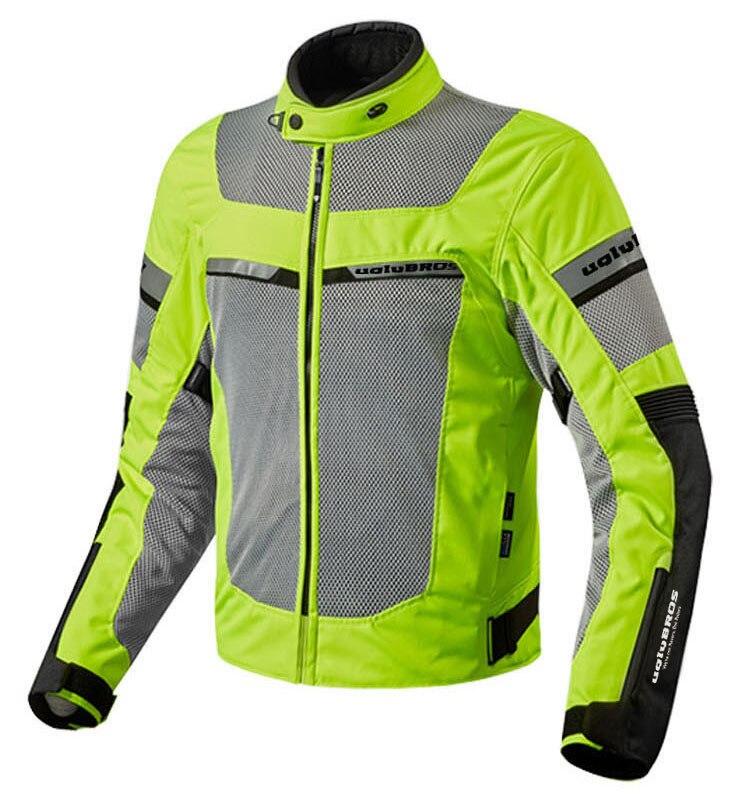 Livraison gratuite 2018 uglyBROS veste de Moto hommes multi-fonction Moto veste Moto Textile Tex veste veste de course