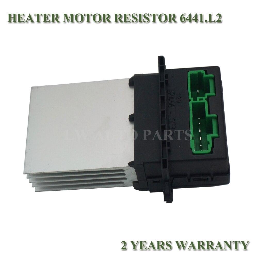 Resistencia Del Motor Soplador Calentador Para Citroen C2 C3 C5 6441L2 7701048390
