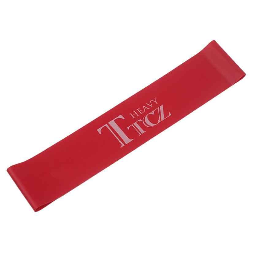 TTCZ pilates joga pętla do ćwiczeń odporność opaski gumowe odporność Fitness Stretch Loop rope Crossfit Band do kulturystyki