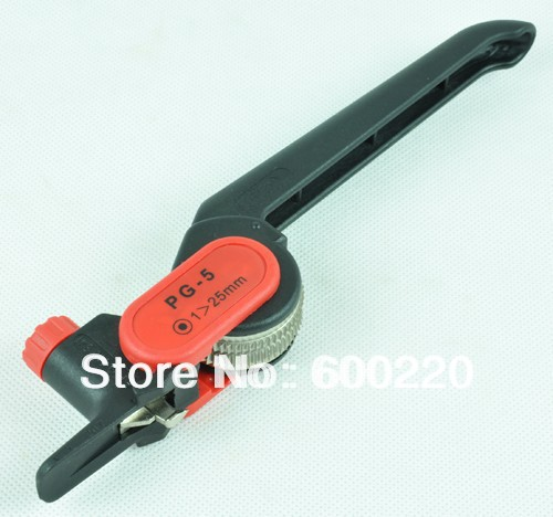 Ratchet wheel type cable stripper,cable stripping knife,cable stripping tool PG-5 xkai 14pcs 6 19mm ratchet spanner combination wrench a set of keys ratchet skate tool ratchet handle chrome vanadium