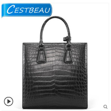 Cestbeau men's crocodile leather crossbody bag single-shoulder bag casual business handbag 2019 new style yuanyu 2017 new hot free shipping crocodile leather men bag luxury single shoulder bag business leisure travelers men handbag