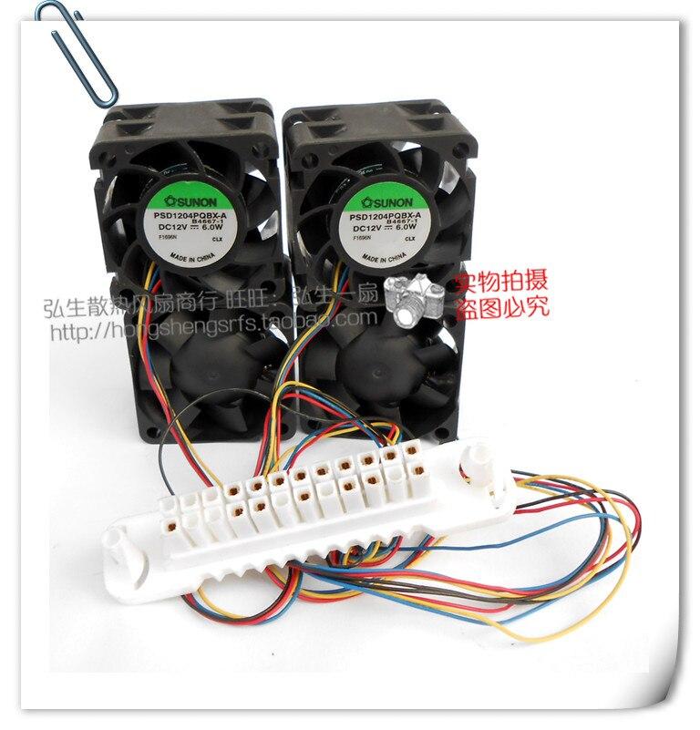 Sunon Psd1204pqbx-a 4 Fan Psd1204pqbx-a 4 Fan Dc12v 6.0 W 4-wire 24-pin