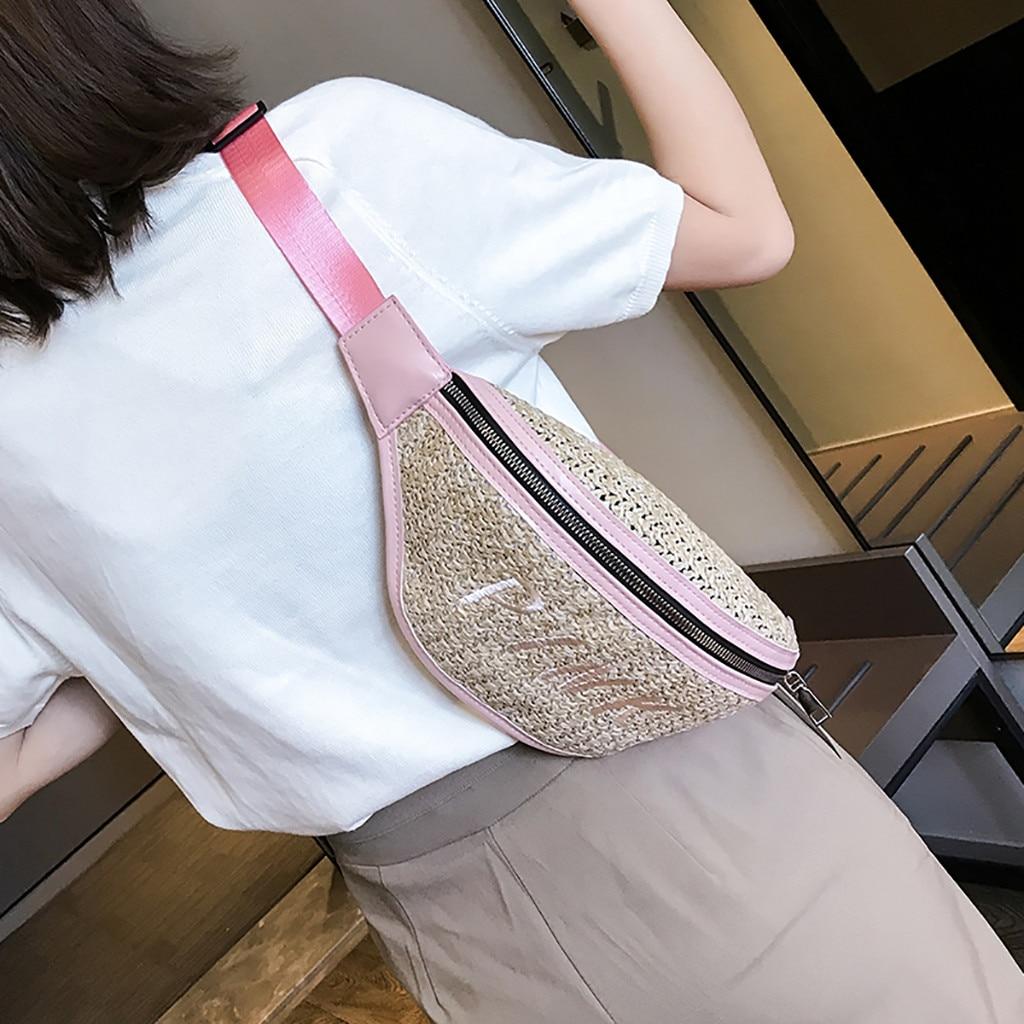 2019 Mode Xiniu Taille Tasche Frauen Taille Fanny Packs Gürtel Taschen Luxus Mode Frauen Bling Pailletten Schulter Messenger Brust Tasche #3,5
