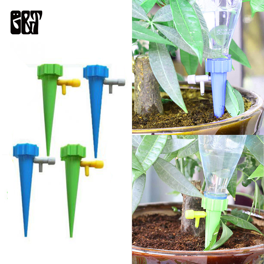 4Pcs Waterer Bottle High-end Irrigation System Drip Sprinkler Water Dripper