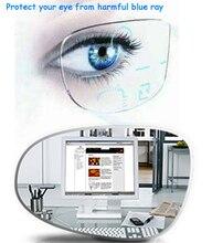 1,56 Anti Blau Rays Standard Multifokale Progressive Linsen Anti müdigkeit Anti glare Rezept Angepasst EV1509