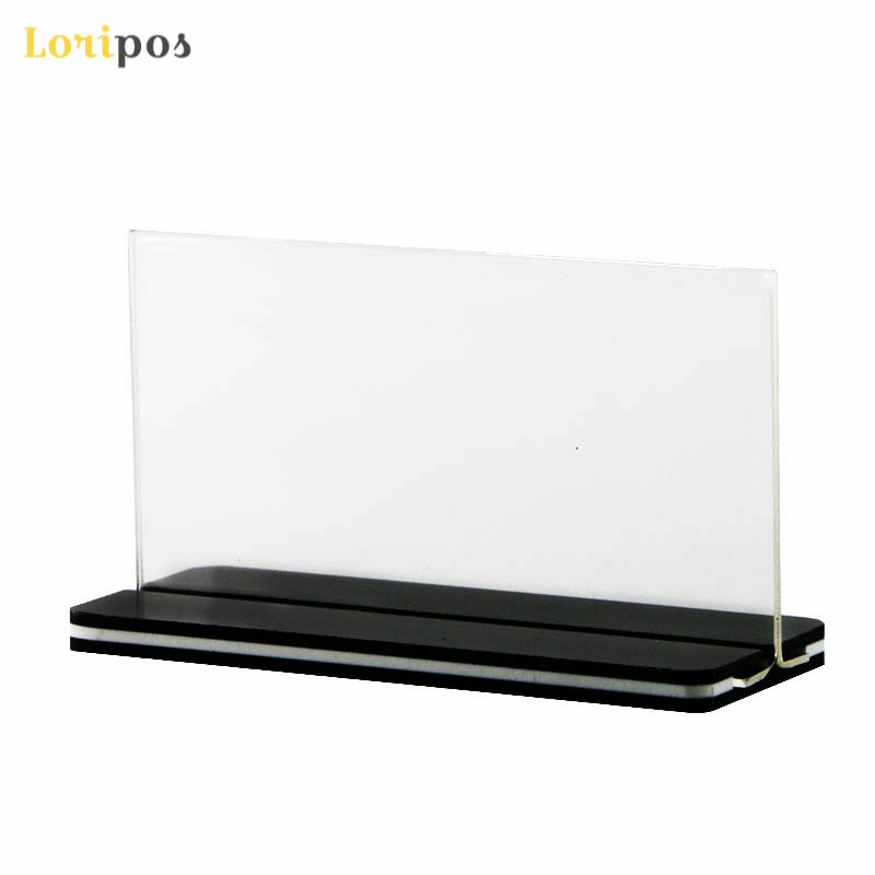 Buy Cheap A5 Menu Stand Counter Cashier Desk Sign Holder Menu Stand Plastic Frame Photo Frame Advertising Food Poster Frame Price Display Office & School Supplies