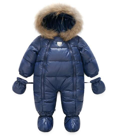 hot sell winter High quality Outdoor For winter coat newborn overalls cold-proof warm Baby Romper