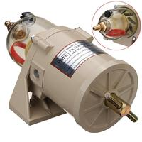 500FG 500FH 90GPH Durable filtr paliwa Diesel Marine Trucks Fuel Filter Oil Water Separator + Bolt Ring