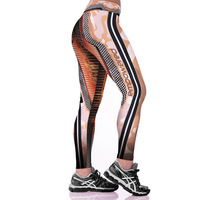 Unisex 3D Digital Print Empowered Robot J Fitness Leggings Elastic Hiphop Party Pants Trousers Ropa