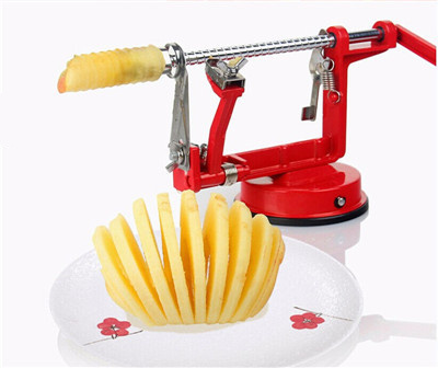 Apple peeler fruit peeler slicing machine / stainless steel apple fruit machine peeled tool creative kitchen tools
