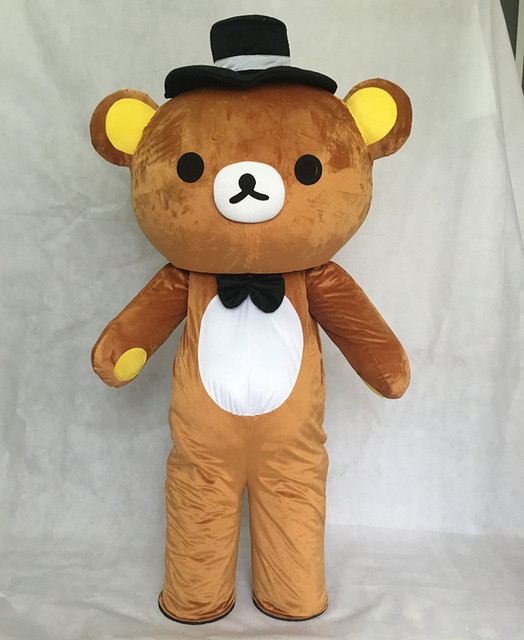 janpan rilakkuma mascot costumes fancy bear mascot costume carnival