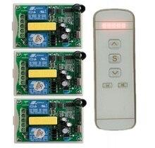 管状モーターガレージドア/プロジェクションスクリーン/シャッター AC 220 ボルト RF ワイヤレスリモートコントロールスイッチ