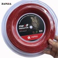 2019 novas cordas de tênis de bambu raquete de tênis cordas 200m grande carretel poliéster tênis cordas 1.25mm 17g|Acessórios para tênis| |  -