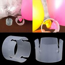 50pcs Balloon Arch Stand Connectors Clip Ring Buckle Wedding Birthday Decor
