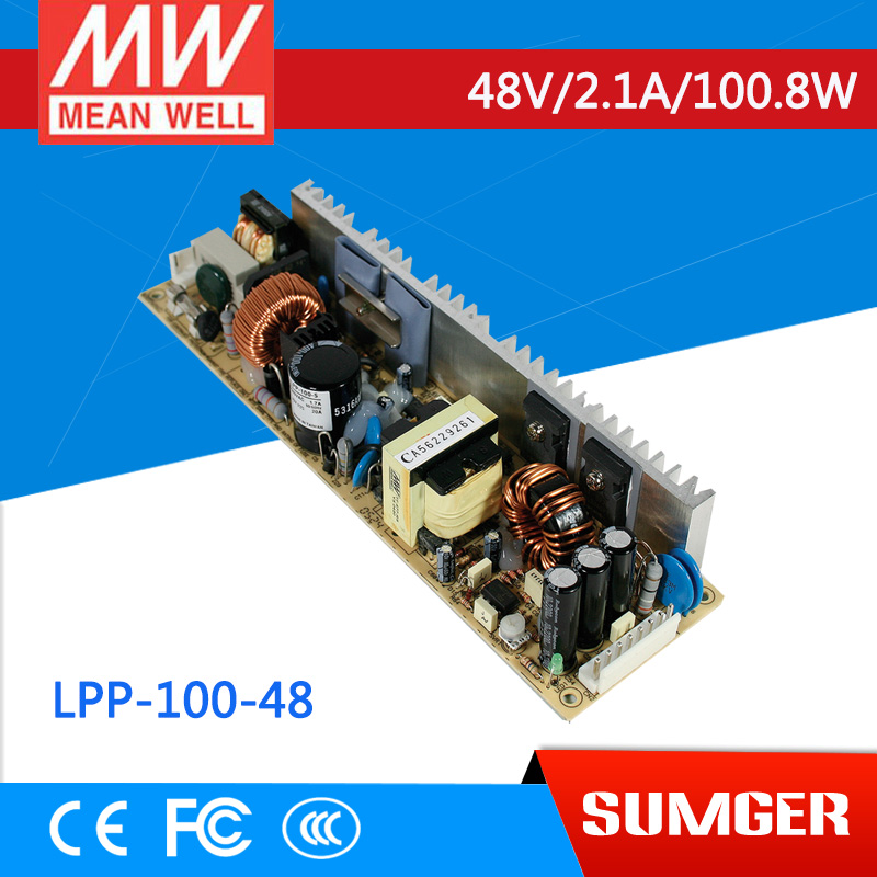 [MEAN WELL1] original LPP-100-48 48V 2.1A meanwell LPP-100 48V 100.8W Single Output with PFC Function dunlop winter maxx wm01 205 65 r15 t