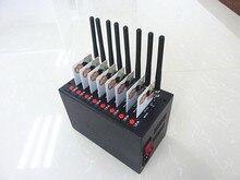 Смс GSM/GPRS Модемный Пул 8 Портов интерфейса USB Q2406 Wavecom Модуль At-команд