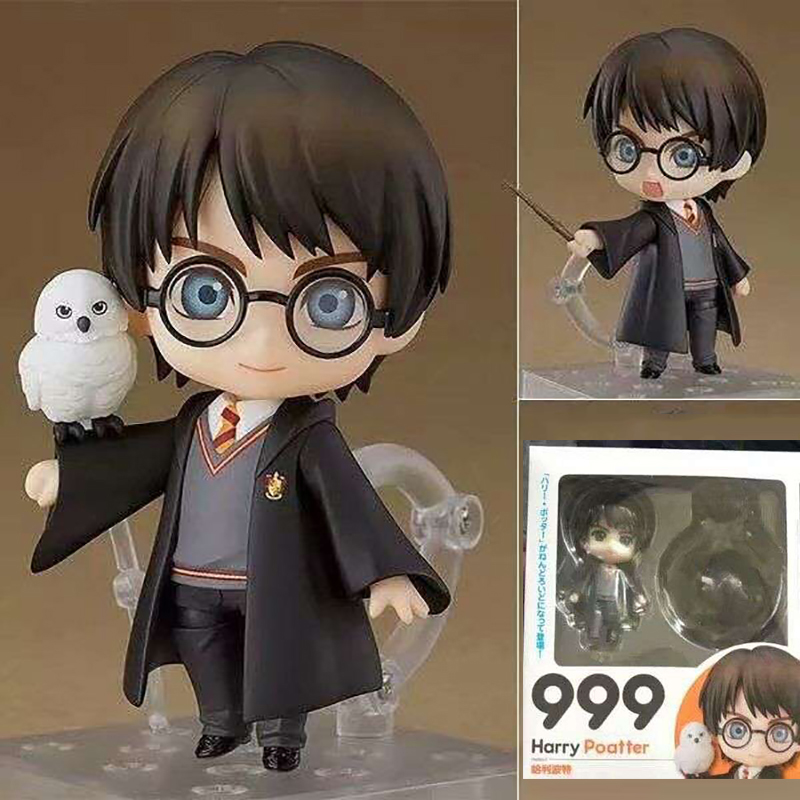 999  Figure Change Face Cute Potter Version PVC Action Figure Collectable Model Toy Gift