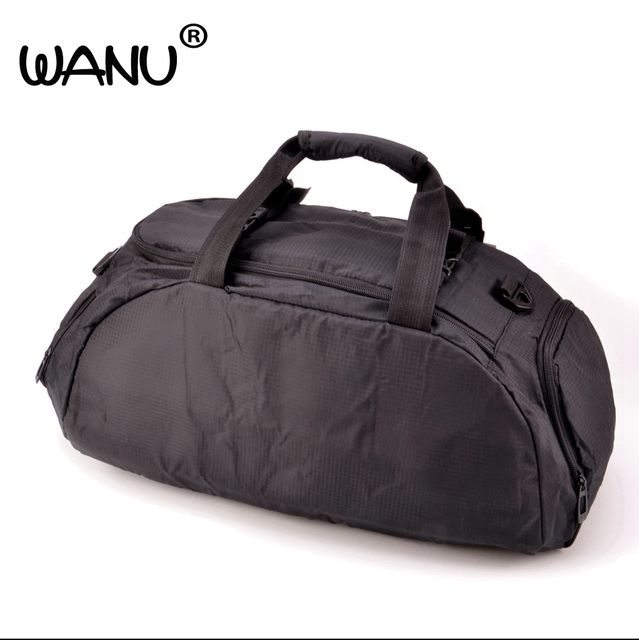 WANU Waterproof Men s Large Capacity Bags luggage male Bag Duffel Tote  Travel Shoulder Handbag Male Backpack duffle bag school c3a1f69fd9e95