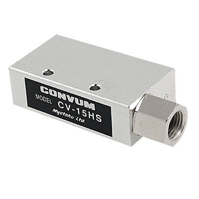 CV-15HS Vacuum Ejector Pneumatic Fitting Silver Tone scv 10 rc1 8 vacuum ejector smc type vacuum generator