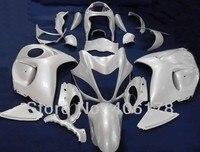Free Shipping GSXR1300 08 09 Fairings Kit For Suzuki GSX 1300 Hayabusa 2008 2009 White Motorcycle