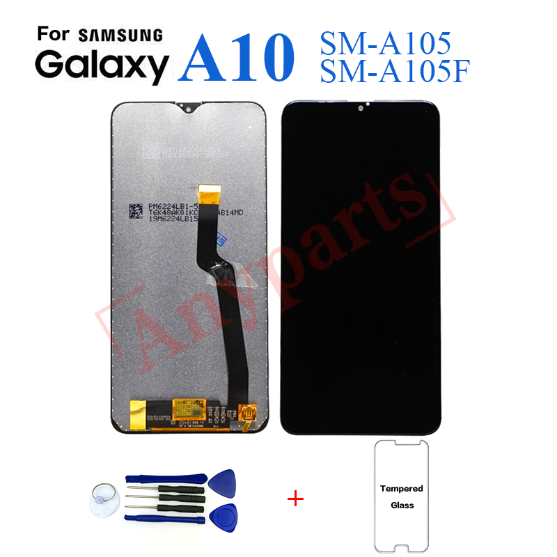 Original For Samsung A10 A105 SM-A105F A105G Display lcd Screen replacement for Samsung A10 SM-A105G display lcd screen module image