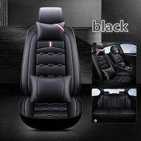 2019 new 6D Styling Car Seat Cover For Hyundai i30 ix35 ix25 Elantra Santa Fe Sonata Tucson 2016 Solaris Veloster Accent