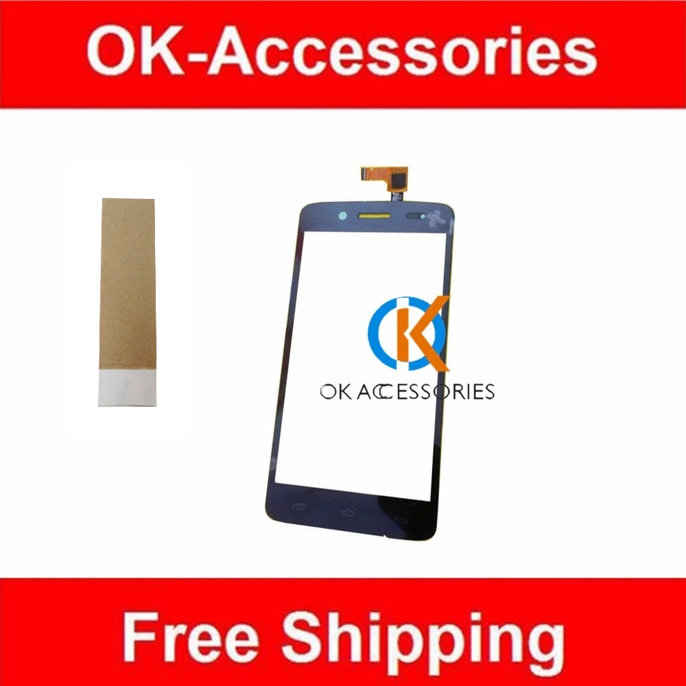 1PC/Lot For Prestigio PAP 5507 Touch Screen Digitizer Black Color With Adhesive Tape