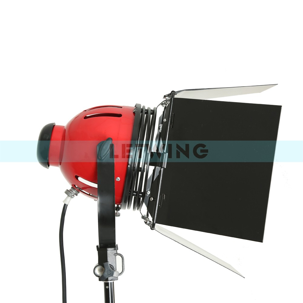 Red Head LED800W 800W Version 3200K Studio Video Light With Dimmer And Heat Releasing Ring Continuous Lighting 220V ashanks 800w studio video red head light with dimmer continuous lighting bulb free shipping