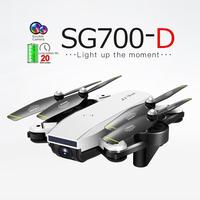 SG700 D Drone 720P/1080P HD WiFi FPV RC Drone Optical Flow Dual Camera Quadcopter with Remote Control Sefie Video Recorder