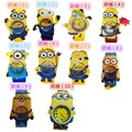 3D Eye Despicable Me minion / Precious Milk Dad Children Watches Slap Snap On Silicone Quartz Wrist Watch  1pcs