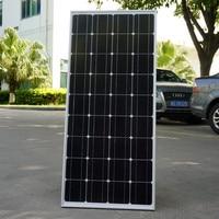 100W 12V Monocrystalline Solar Panel for 12V Battery RV Boat , Car, Home Solar Power